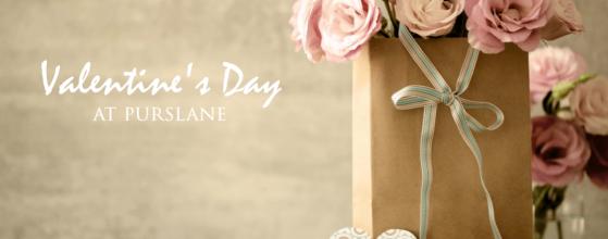 Valentine's Day at Purslane